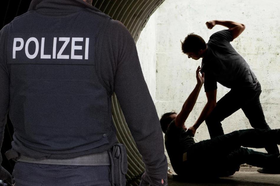 Der 29-Jährige wurde zu Boden gebracht, bedroht und ausgeraubt. Die Polizei fahndet (Symbolbild).