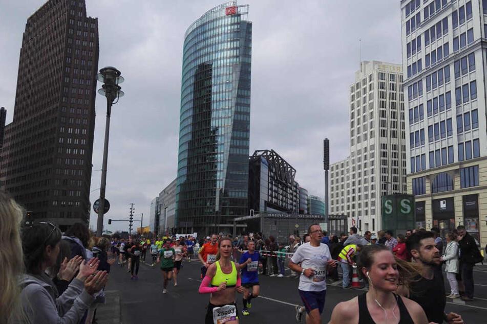 34.000 Läufer begeistern die Hauptstadt
