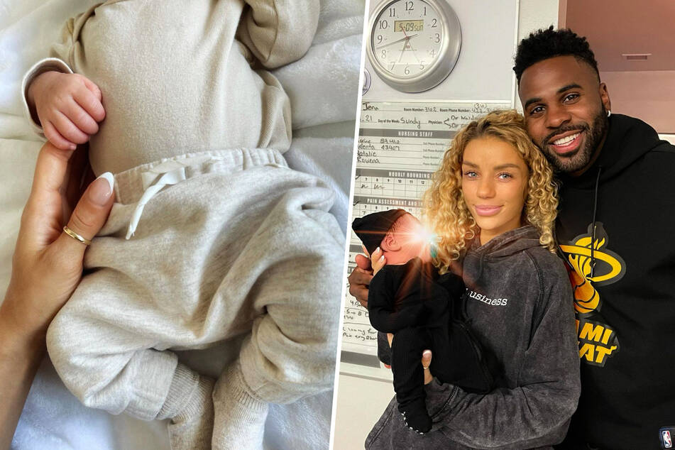Jason Derulo and Jena Frumes welcome their first child