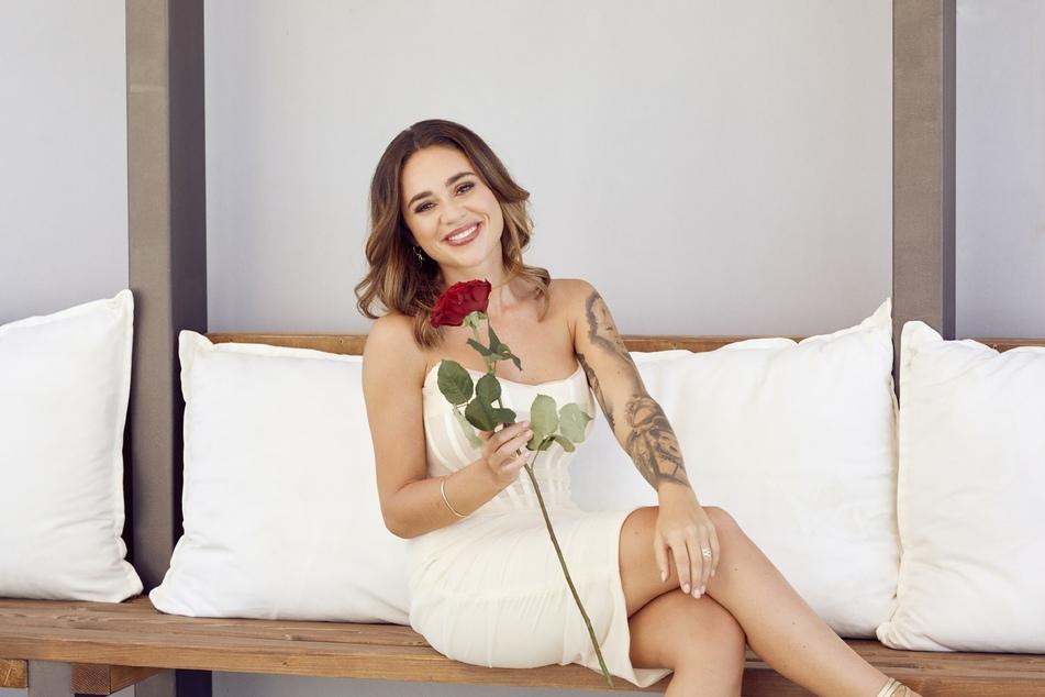 Melissa Damilia (24) verteilt in diesem Jahr Rosen im TV.