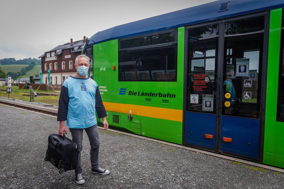 Martin Sturm (61) freut sich über das Angebot. Die Pandemie sorgte für einen verspäteten Start und Auflagen.