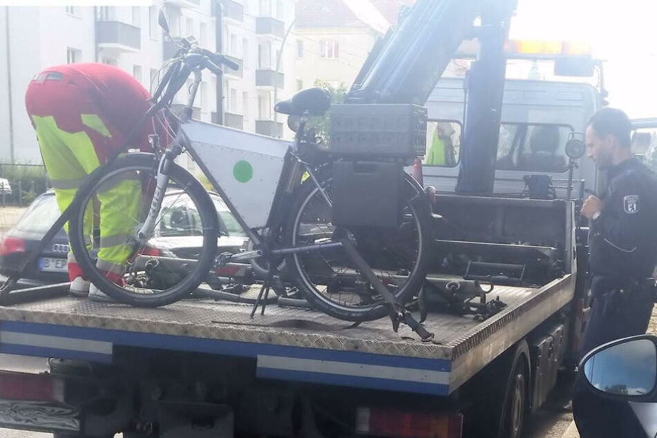 Frisiertes E-Bike überholt die Polizei