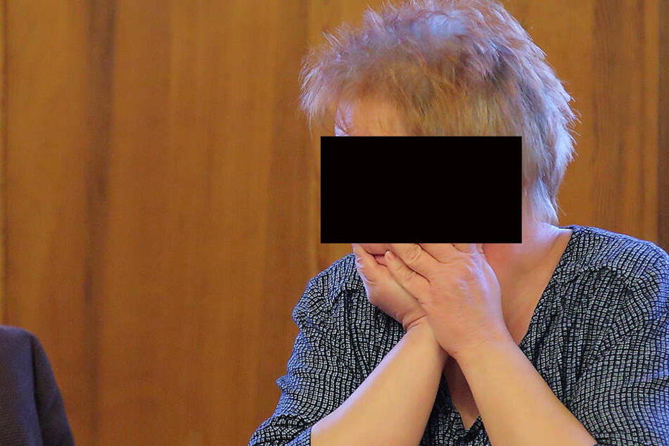Anja B. (47) gestand ihre Taten am Amtsgericht in Bautzen.