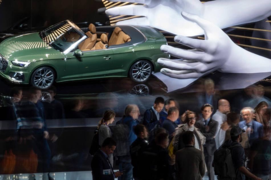 Die IAA in Frankfurt gilt als eine der größten Automobilfachmessen.