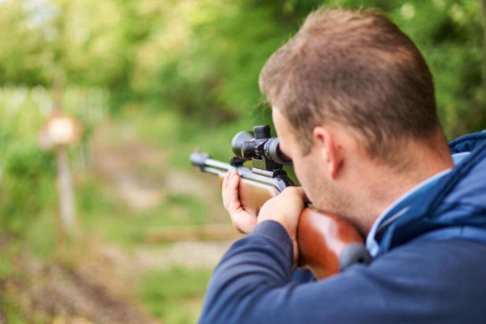 Ein Unbekannter hat mit einem Luftgewehr auf mehrere Katzen geschossen.
