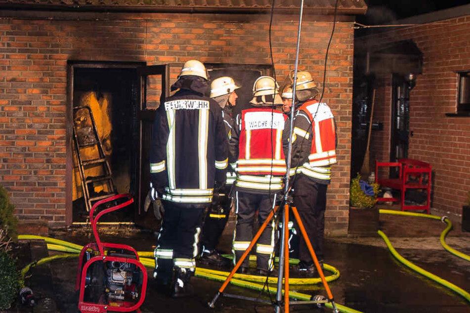 Die Feuerwehr Bielefeld bekam den Brand schnell unter Kontrolle.