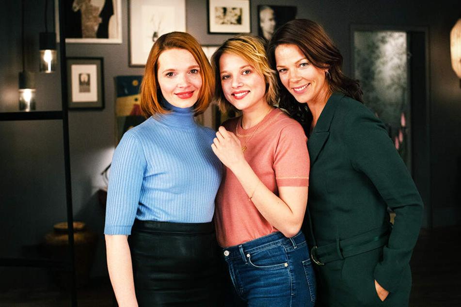 Frauen-Power: Carlotta (Karoline Herfurth), Bianca (Jella Haase) und Eva (Jessica Schwarz) spielen die weiblichen Hauptrollen.