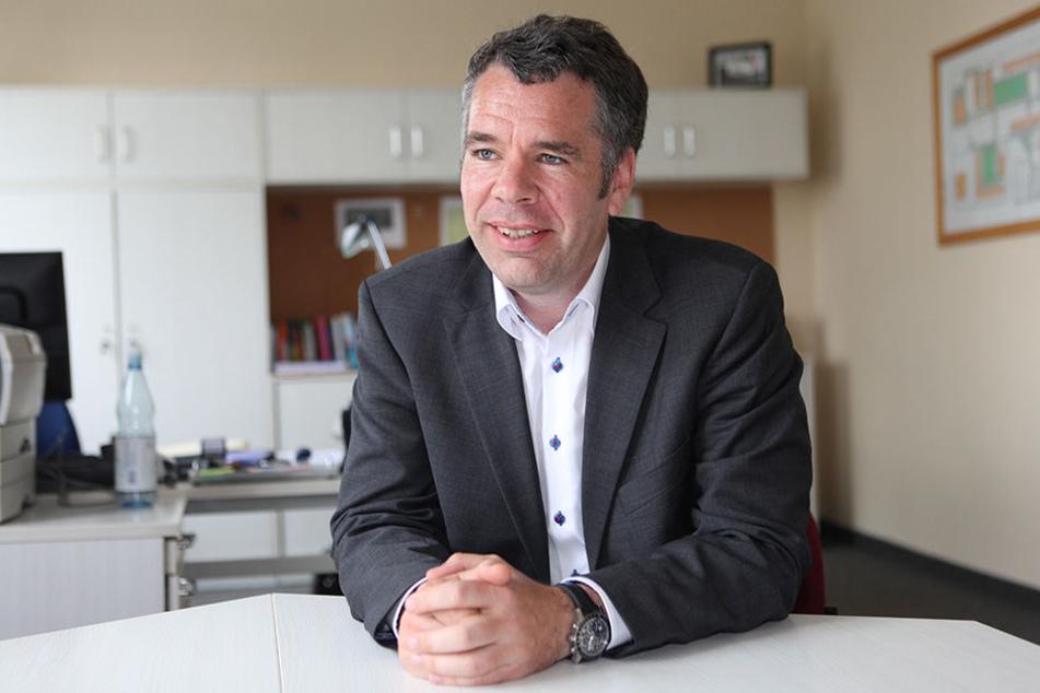 Hat Knasterfahrung, aber als Chef: Thomas Galli (43).