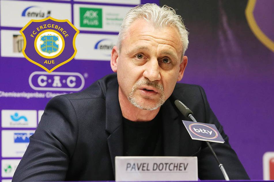 Dotchev nicht mehr Aue-Coach: Verein nimmt Rücktritt an