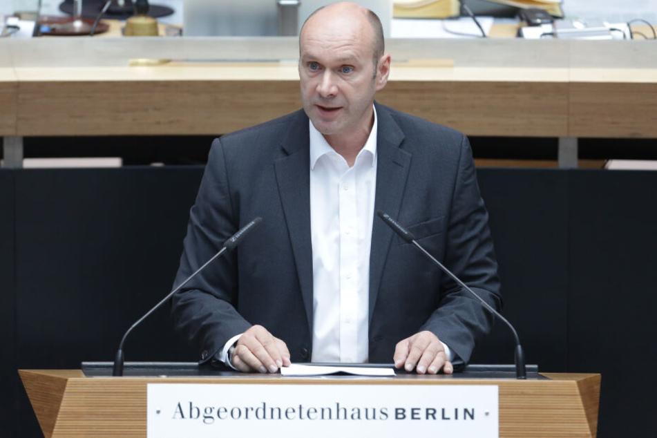Udo Wolf ist Fraktionschef der Linken in Berlin.