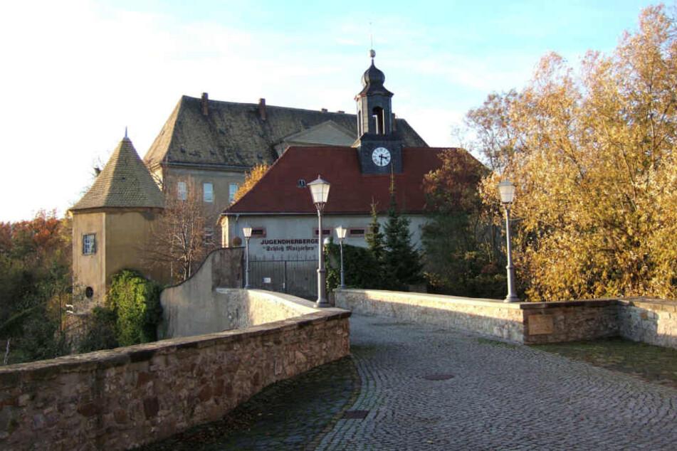 """Das Mutzschener Schloss. Hier fanden am Freitag die MDR-Dreharbeiten zu """"Mach dich ran"""" statt."""