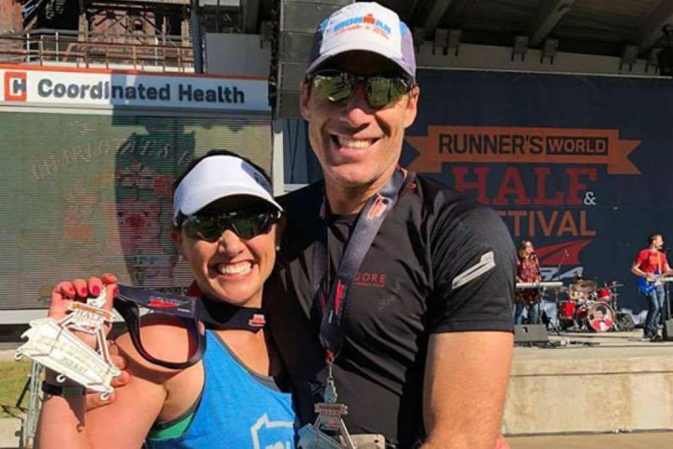 Heute bestreitet Colleen wieder ganze Marathons.
