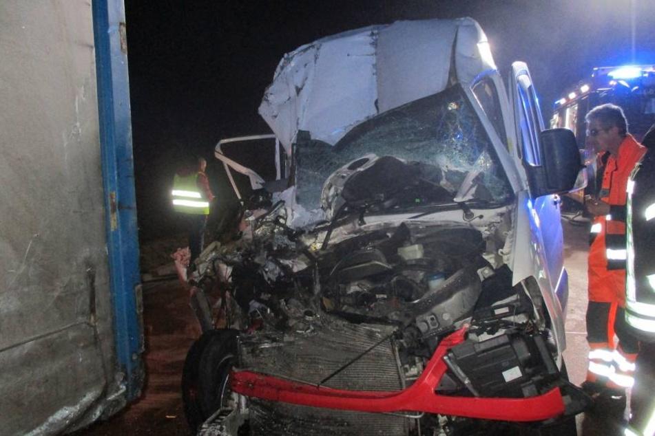 Hätte ein Beifahrer in dem Wagen gesessen, wäre der Unfall wohl nicht so glimpflich ausgegangen.