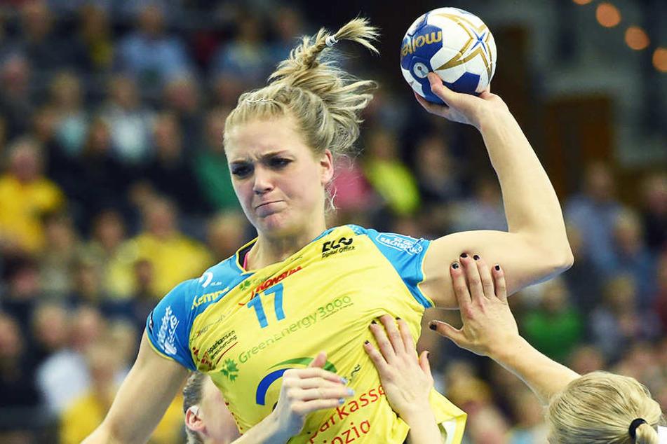 Anne Hubinger punktete zwar am häufigsten, konnte ihre Mannschaft aber nicht zum Sieg führen.