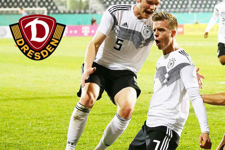 Traumtor! Dynamos Burnic ballert Deutschland zum Sieg