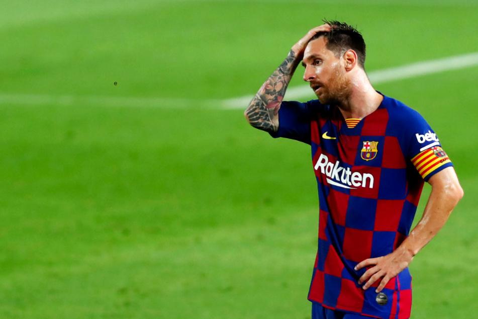 Lionel Messi gewann mit dem FC Barcelona in der Saison 2019/20 keinen Titel.