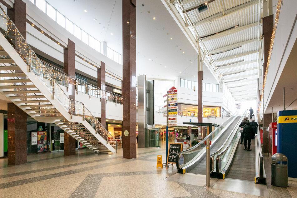Das Einkaufszentrum ist deutlich in die Jahre gekommen.