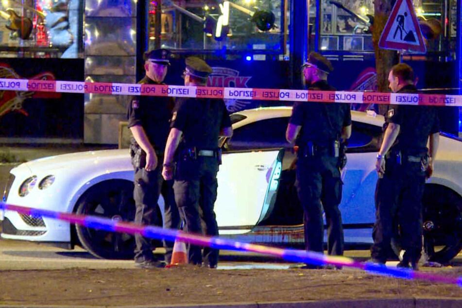Dariusch F. wurde in diesem weißen Sportwagen angeschossen. (Archivbild)