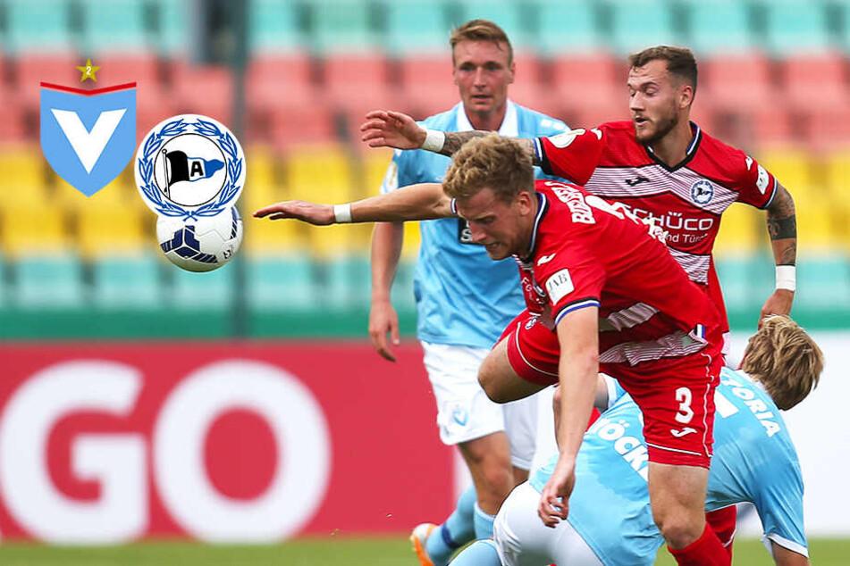 Favoritensieg in Berlin: Arminia Bielefeld gewinnt knapp beim FC Viktoria 1889!