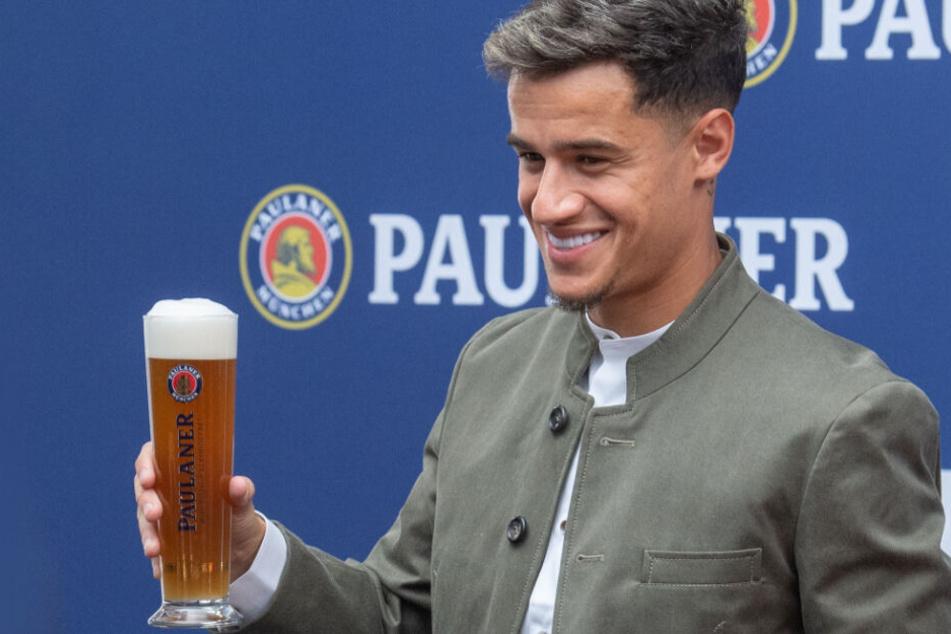 Berauscht oder einfach nur verträumt? Phillippe Coutinho will sich nicht mit einem Titel zufrieden geben.