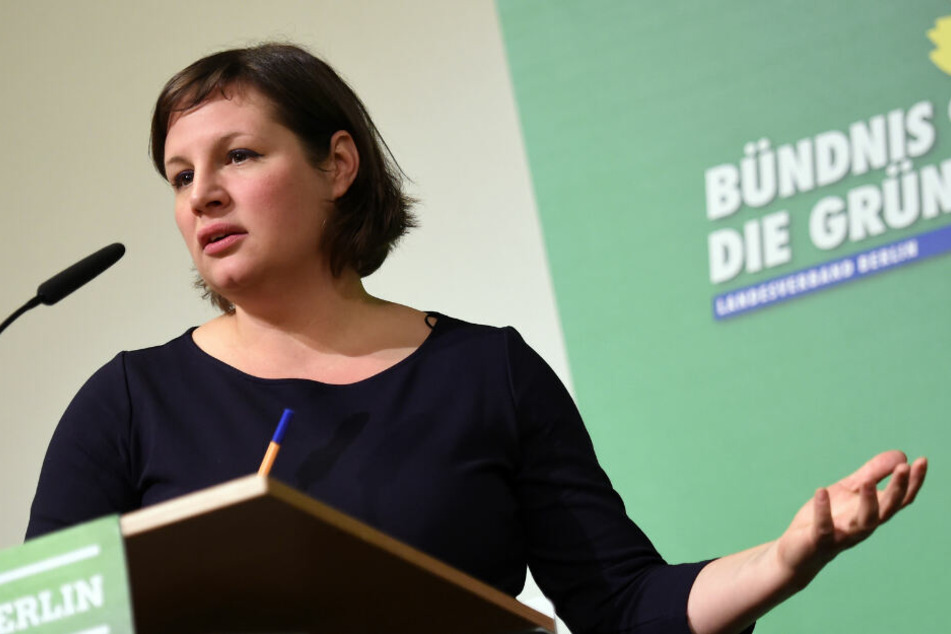 Verglich Palmer mit einem Irren: Grünen-Fraktionschefin Antje Kapek.