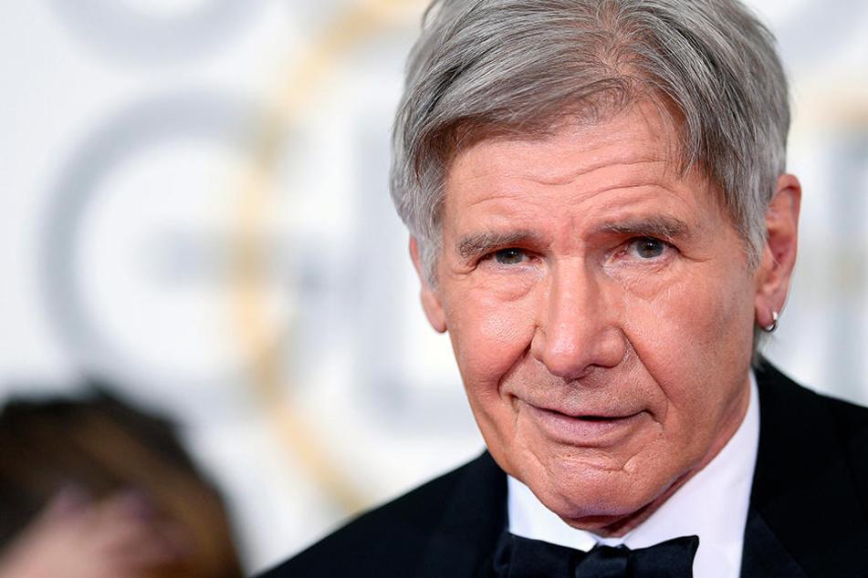 Wie im Kino: Hollywood-Star Harrison Ford rettet Frau