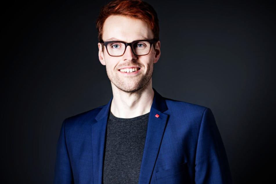 Verdi-Bezirksgeschäftsführer Daniel Herold (33).