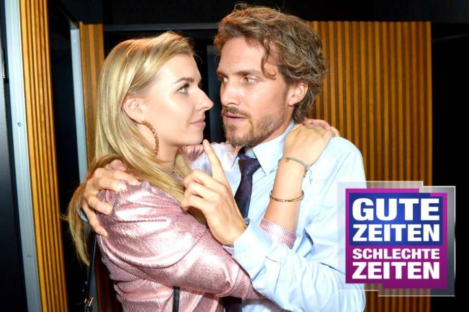 GZSZ: Ausgerechnet von ihm! Brenda und Felix werden beim Klo-Sex erwischt