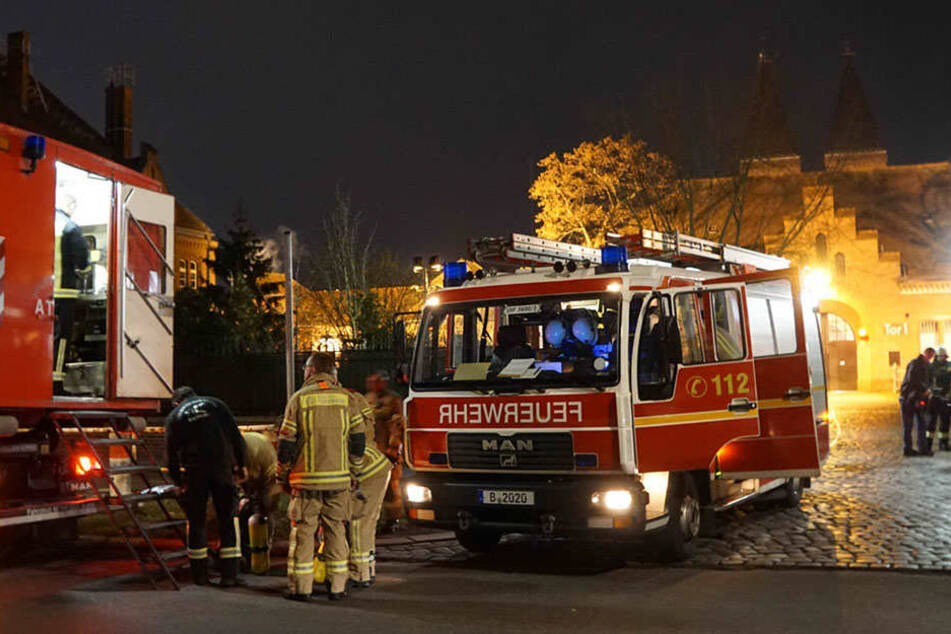 Die Feuerwehr musste mit 44 Mann ausrücken.