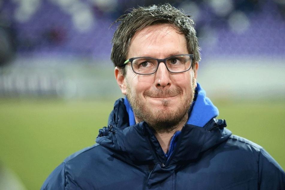 Hannes Dress hatte am Montag überraschend bekannt gegeben, als Trainer von Aue zurückzutreten.