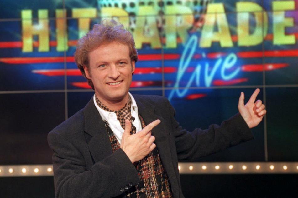 """Hübner präsentierte die """"ZDF-Hitparade"""" zehn Jahre lang von 1980 bis 1990."""