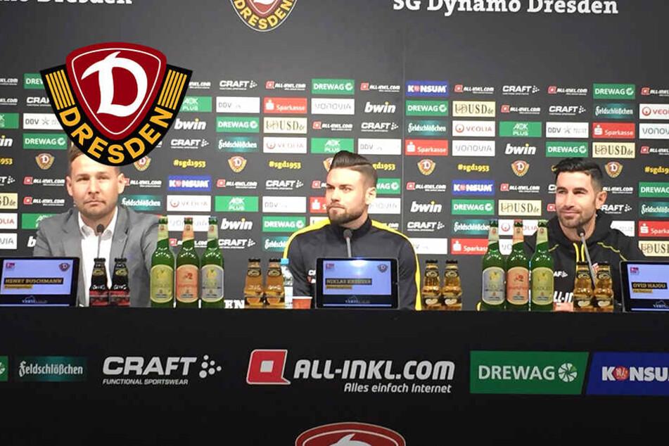 Dynamo-Pressekonferenz ohne Cheftrainer: Wo ist Maik Walpurgis?
