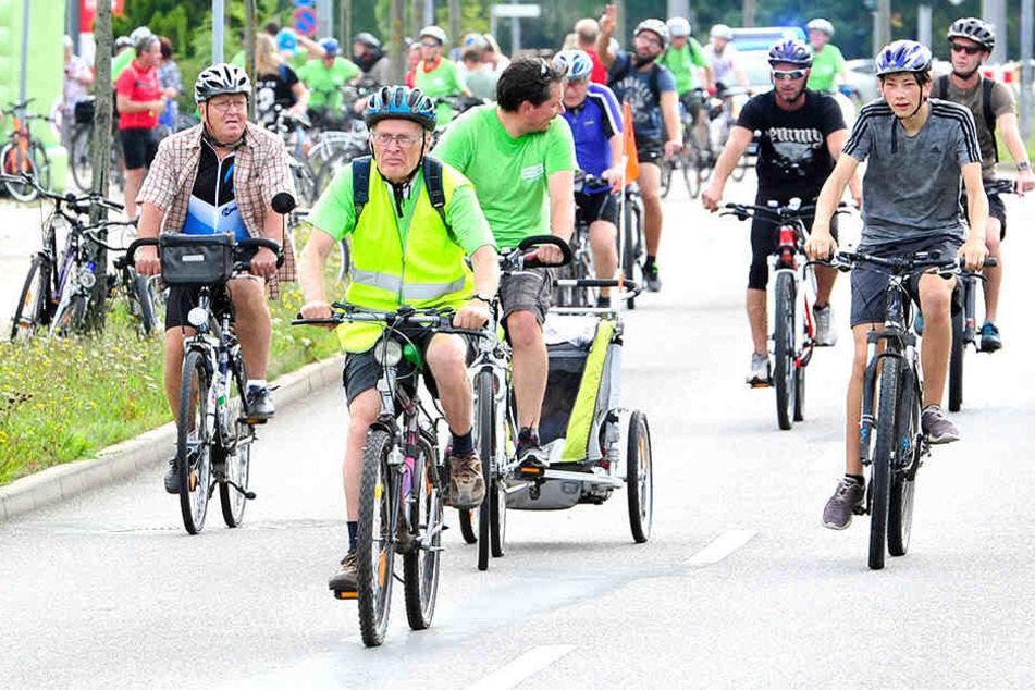 """Beim """"Stadtradeln"""" sollen normale Bürger mit Kommunalpolitikern in Teams fahren."""