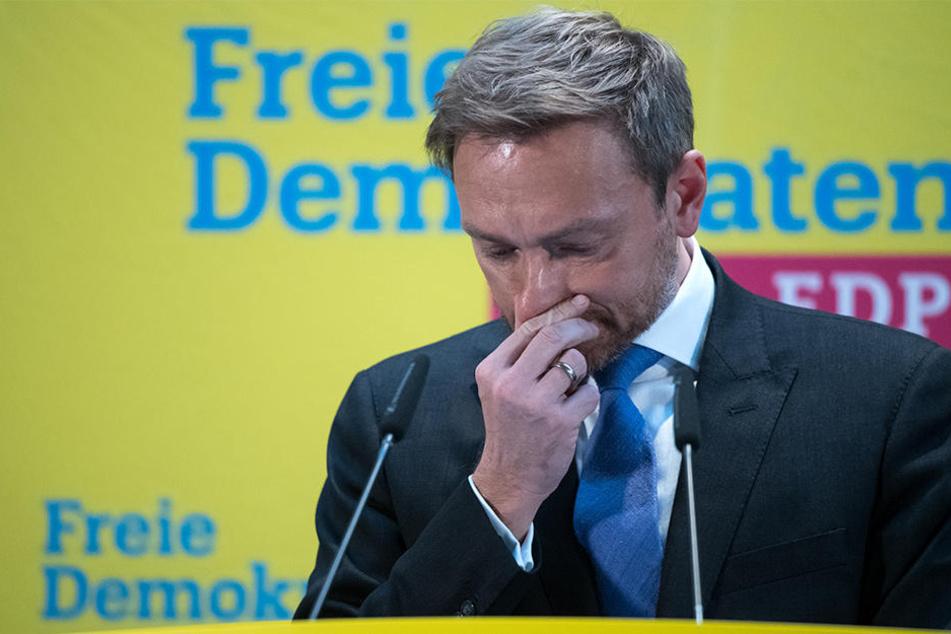 Schon vor der NRW-Landtagswahl kündigte Lindner an, nicht gleichzeitig Bundes- und Landesvorsitzender bleiben zu wollen.