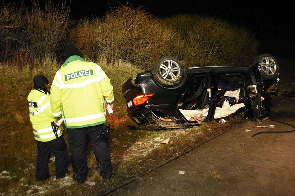 Der Suff-Fahrer (35) war im geklauten Mercedes unterwegs.