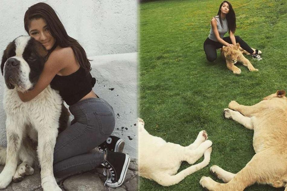 Tierlieb und durchtrainiert: Yovanna Ventura begeistert mit ihren Instagram-Fotos Millionen von Fans.