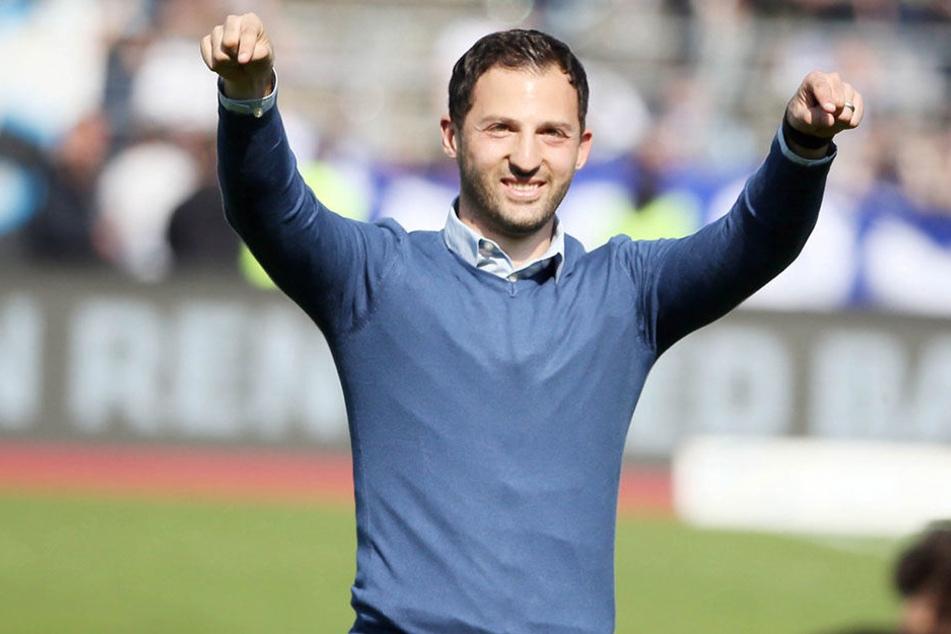 Domenico Tedesco wechselt zu Schalke.