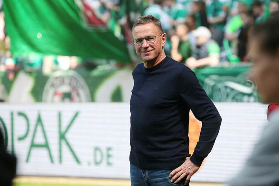 Ralf Rangnick stand zum letzten Mal in einem Bundesligaspiel als Trainer an der Seitenlinie, konzentriert sich ab der kommenden Saison wieder auf seinen Posten als Sportdirektor.
