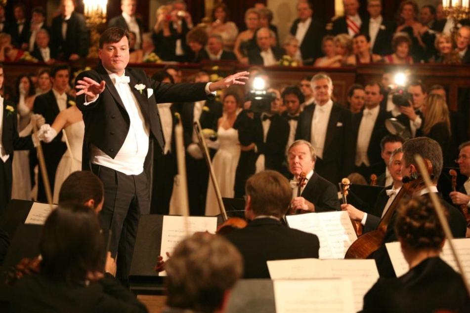 Den legendären Saal des Musikvereins kennt er aus jahrelanger Zusammenarbeit mit den Wiener Philharmonikern gut.