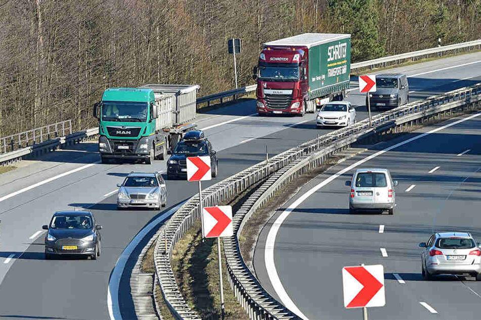 Sachsen will die A4 wegen des steigende Güterverkehrs ausbauen. Das Okay vom Bund fehlt aber bislang.
