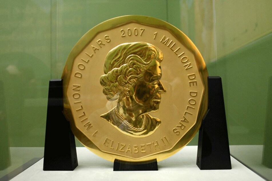 Die 100 Kilo schwere Goldmünze wurde vor vier Wochen gestohlen.