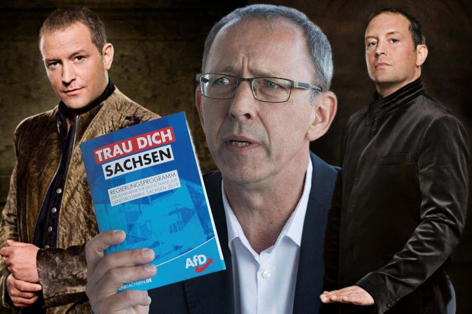 """Ex-""""Unter uns""""-Star teilt vor Sachsenwahl heftig gegen die AfD aus"""