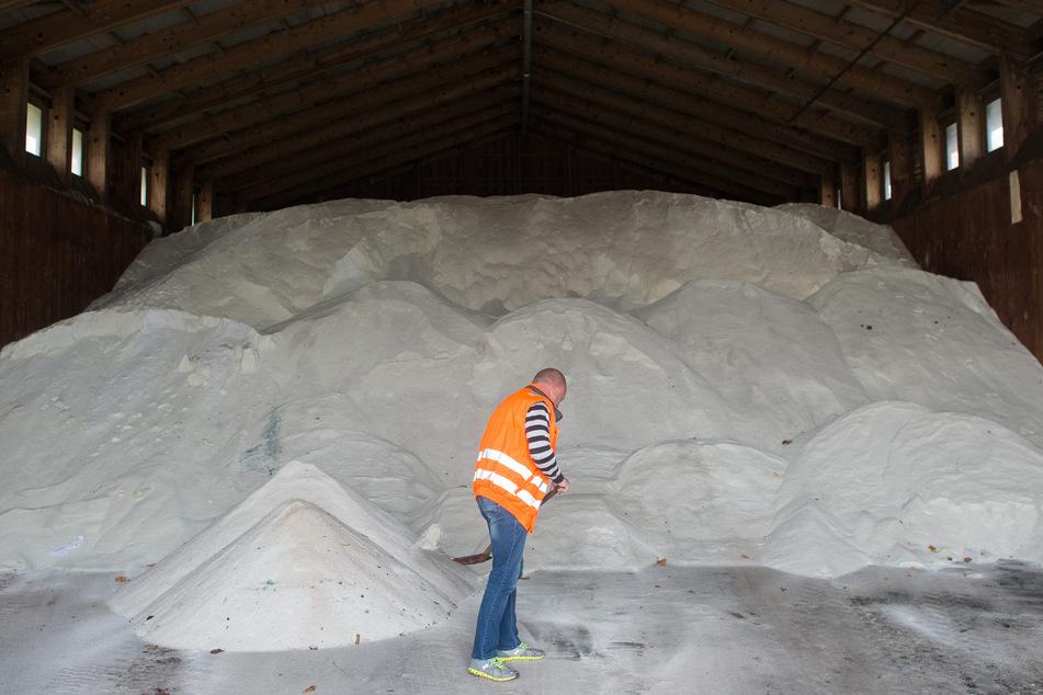 In Sachsen beginnen bereits die Vorbereitungen auf den kommenden Winter. (Symbolbild)