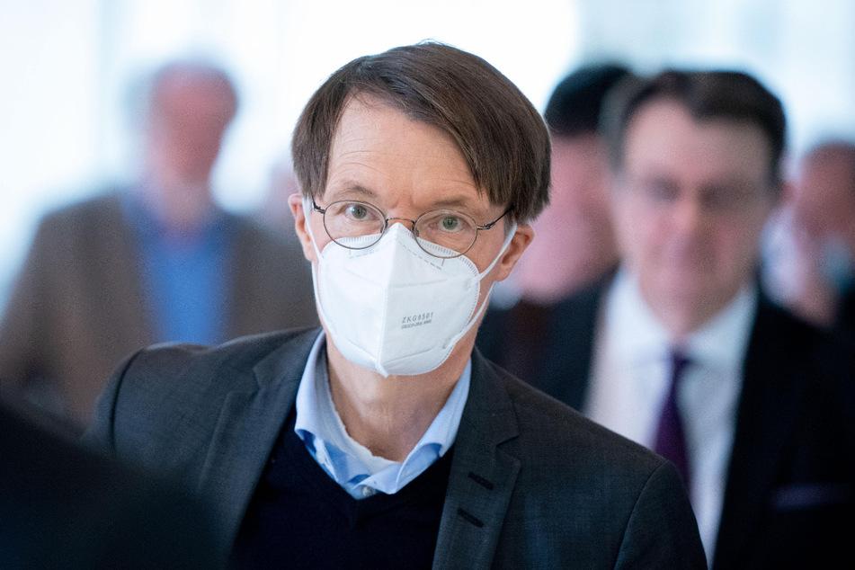 Karl Lauterbach (57, SPD).