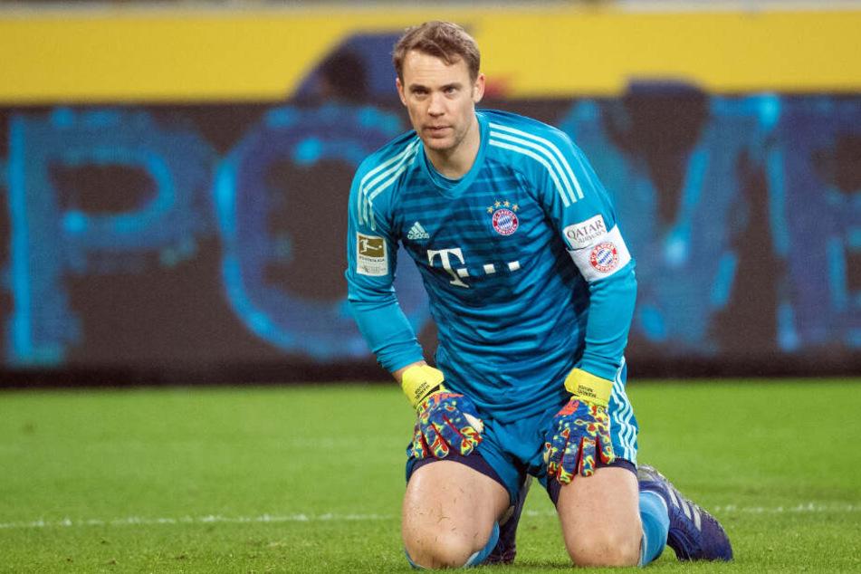 Manuel Neuer seit seiner langwierigen Verletzungen und dem WM-Debakel nicht mehr unantastbar.