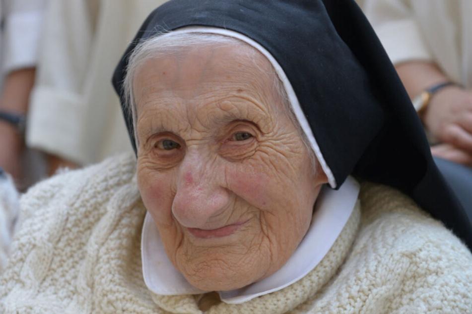Schwester Konrada wurde 110 Jahre alt.