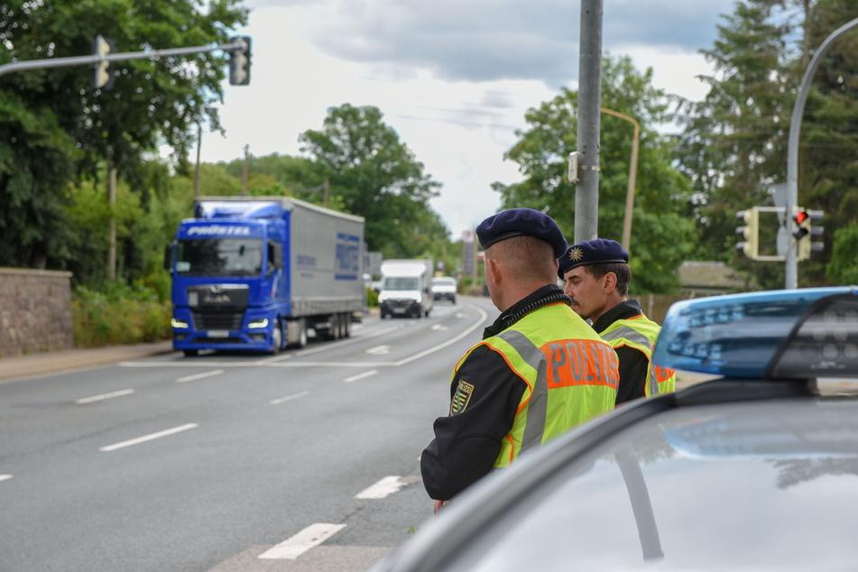 Knapp 500 Brummis schickte die Polizei im Wochenverlauf zurück auf die Autobahn.