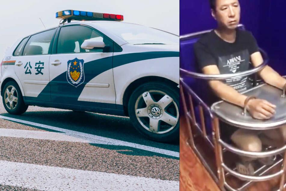 So endet man in China, wenn man Witze über die Polizei macht
