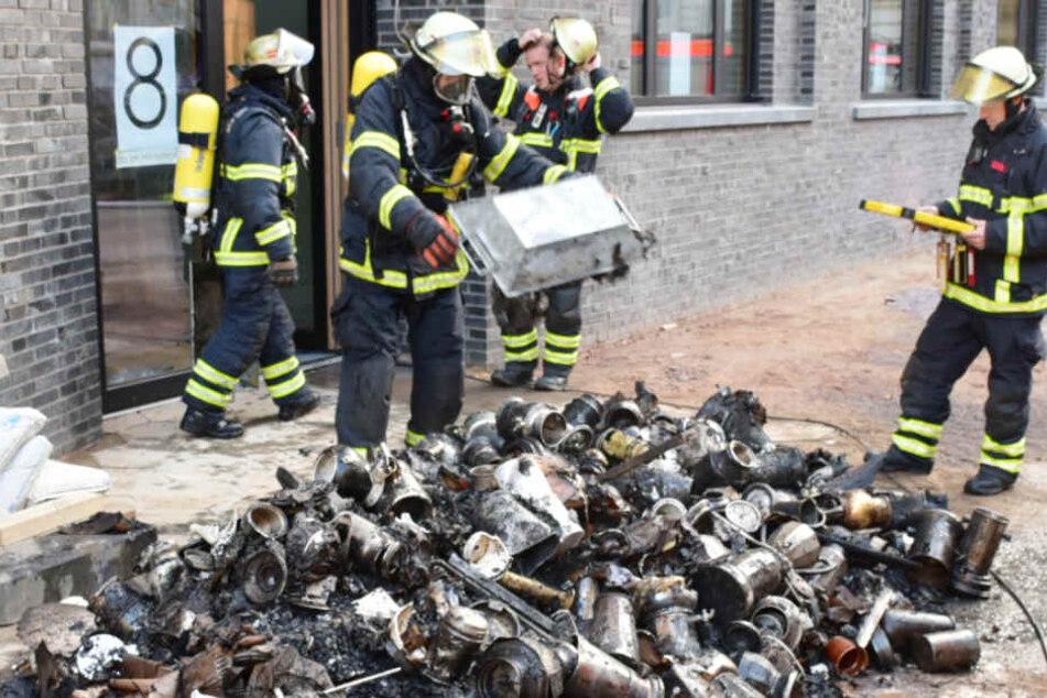 Brandstifter zerstört weltgrößte Sammlung alter Kaffeemaschinen