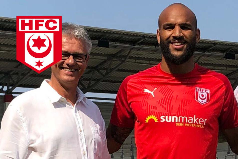 "Transfer-Hammer: Drittligist Hallescher FC holt ""Zyklop"" Boyd"